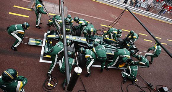 Team Lotus yeşil-sarı renklerle yarışacak