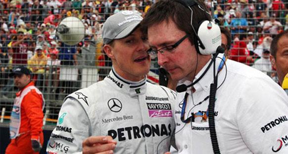 Shovlin'e Mercedes GP'de yeni görev