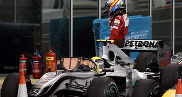 Ferrari'nin hatası üzerine
