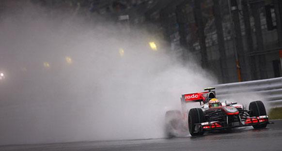Hamilton finiş gördüğü için rahatladı
