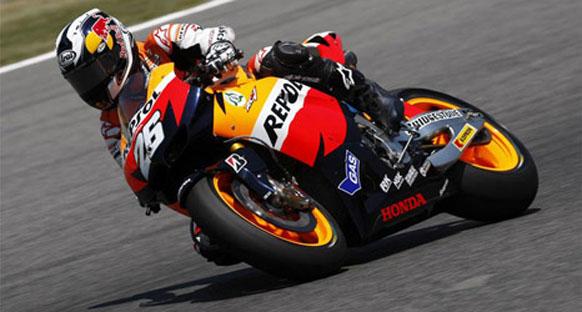 Pedrosa Indianapolis'de kazandı
