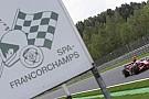 Belçika GP hafta sonunu yağmur bekliyor