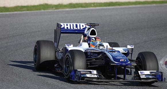 Williams startta kaybetti