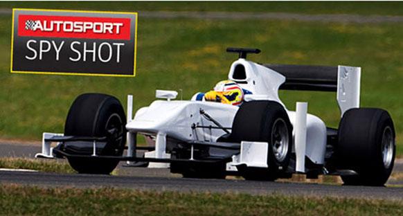 2011 GP2 aracının ilk görüntüsü
