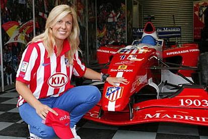 Superleague Formula'nın ilk bayan pilotu Maria de Villota