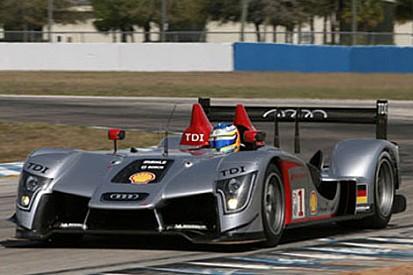 Sebring'deki ilk testte Audi önde