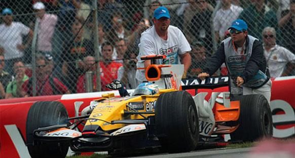 Alonso: 'Finiş görseydim bile puan alamazdım'
