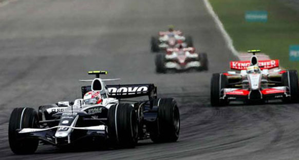 İspanya GP - Williams Toyota - Antrenmanlar