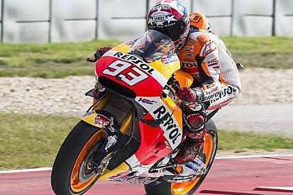 Marquez: Ön lastiğim tamamen bitti