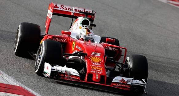 Vettel ilk günden mutlu ayrılıyor