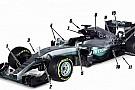 Teknik Analiz: Mercedes W07'deki önemli değişiklikler