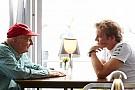Lauda Rosberg'in Şampiyonluğu kaybetmesine üzülmüş