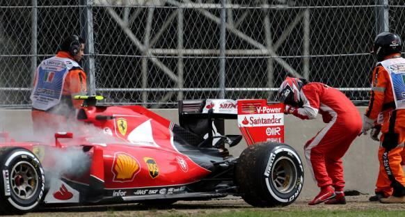 Motoru değiştirilen Kimi Raikkonen bir ceza daha aldı