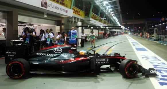 Singapur GP Cumartesi Antrenmanları Canlı Yayın