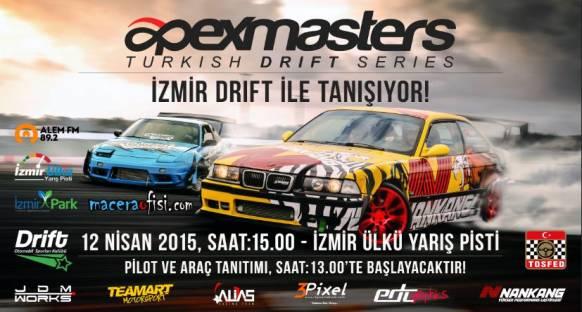 Drift fanları İzmir'de buluşacak