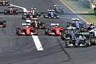 Avustralya Grand Prix start ve güvenlik aracı periyodu