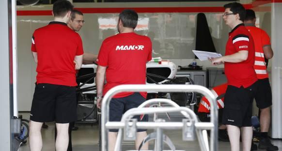 Manor yarışa çıkamayacak