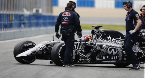 Red Bull daha güçlü bir renk düzeniyle yarışacak