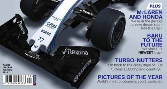 Williams'ın 2015 aracının ilk görüntüsü ortaya çıktı