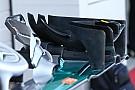 Технический брифинг: переднее антикрыло Mercedes W07