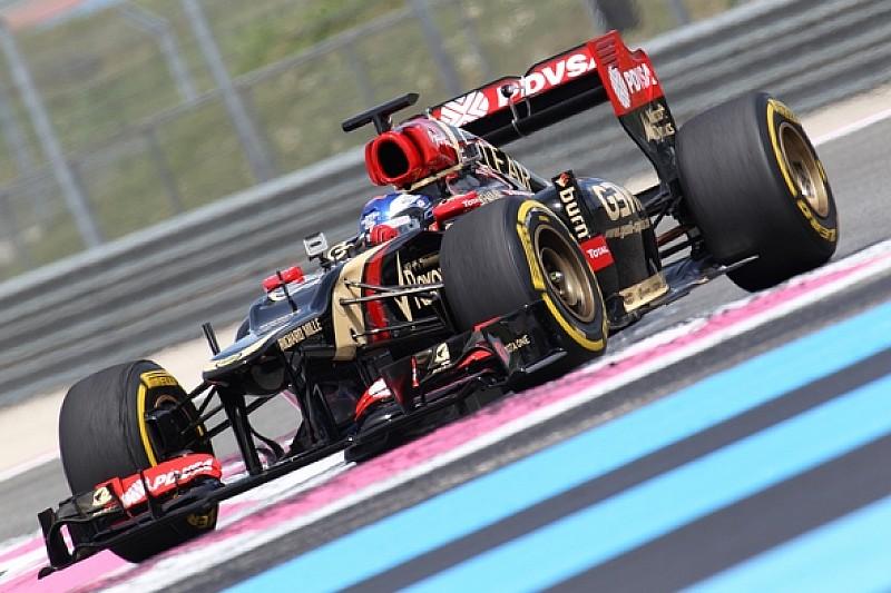 Pirelli провела тесты на Пол Рикар