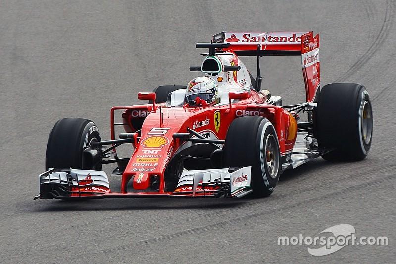Problème électrique pour Vettel, dure journée pour Ferrari