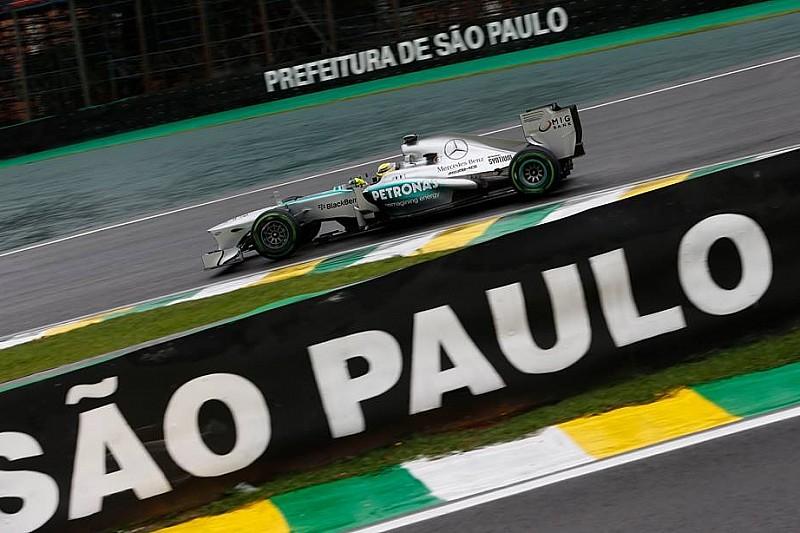 Гран При Бразилии: вторая тренировка