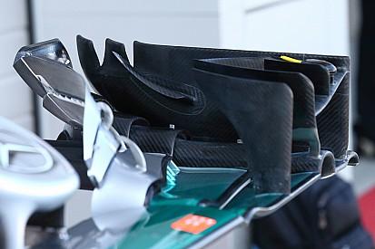 Análise técnica: mudanças na asa dianteira da Mercedes