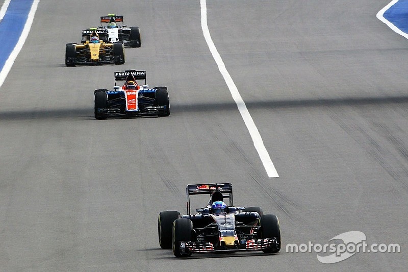 Formel 1 in Sochi: Die Startaufstellung zum Großen Preis von Russland
