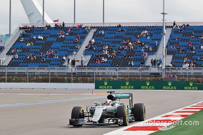 Lewis Hamilton nach Pech im Qualifying in Sochi: Aufgeben gilt nicht