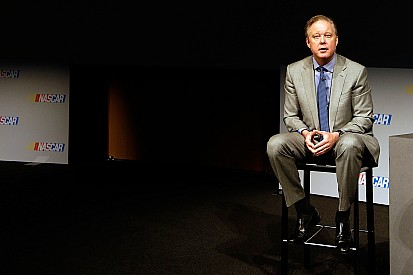 Brian France attends Drivers Council meeting; talks privately with Tony Stewart