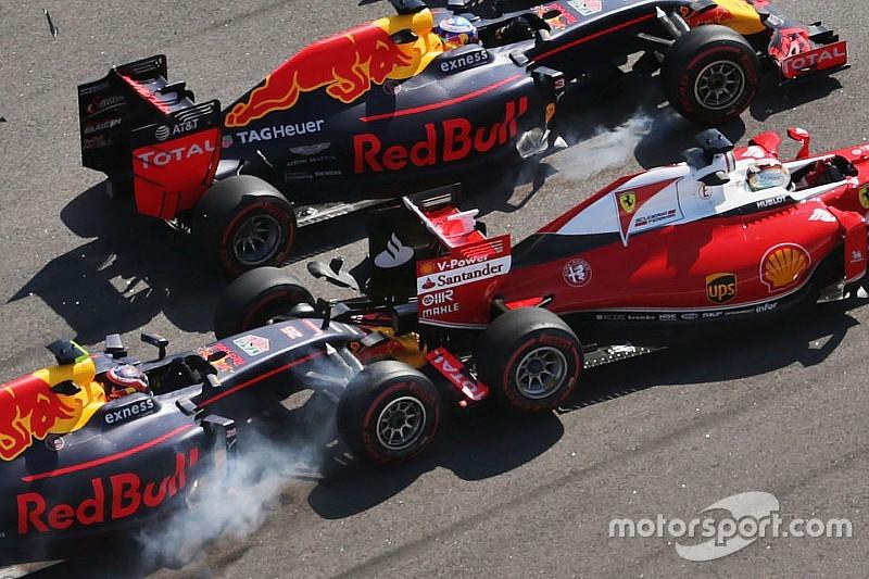 Vettel abandonne après un nouveau clash avec Kvyat