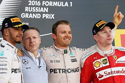 روزبرغ يفوز في سباق روسيا ورعونة كفيات تقضي على أحلام فيتيل