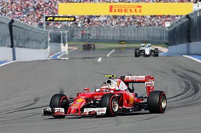 Räikkönen troisième du championnat mais loin des Mercedes
