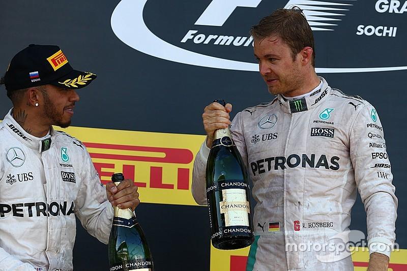 """Rosberg - """"L'extase"""" de la bataille contre Hamilton n'est pas là"""