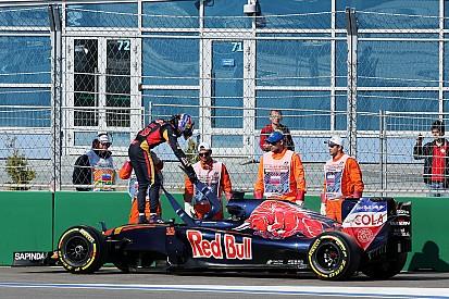 Toro Rosso pas épargné par les ennuis à Sotchi