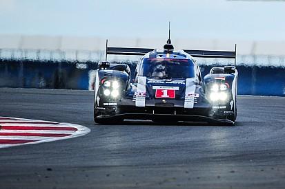 Porsche à Spa avec des éléments de son package Le Mans