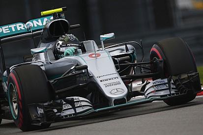 Rosberg rodó las últimas vueltas en modo seguro