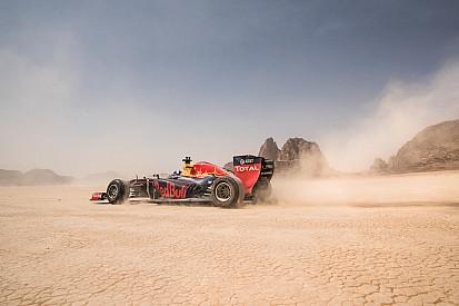 Photos - Red Bull fait le show en Jordanie!