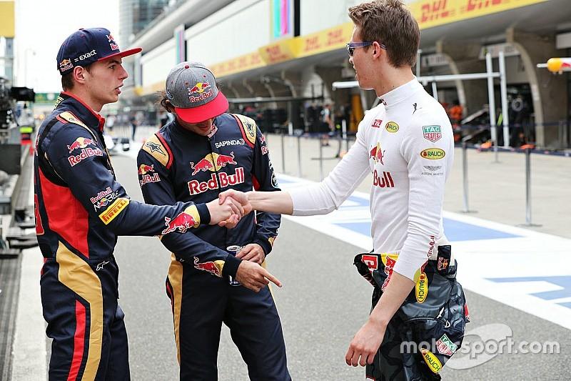 OFICIAL: Kvyat correrá con Toro Rosso y Verstappen con Red Bull en España