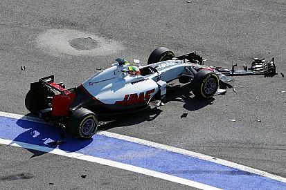 Haas crê que batida de Gutierrez tenha ajudado Grosjean