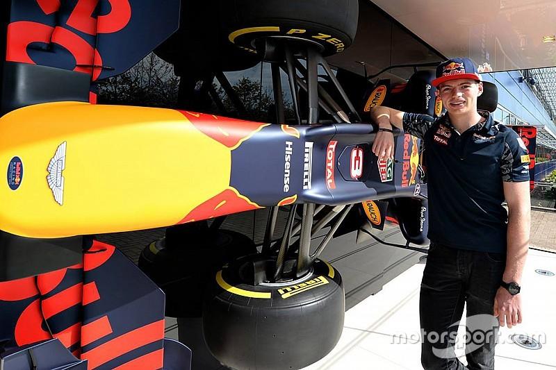 Verstappen voelt niet meer druk door overstap naar Red Bull
