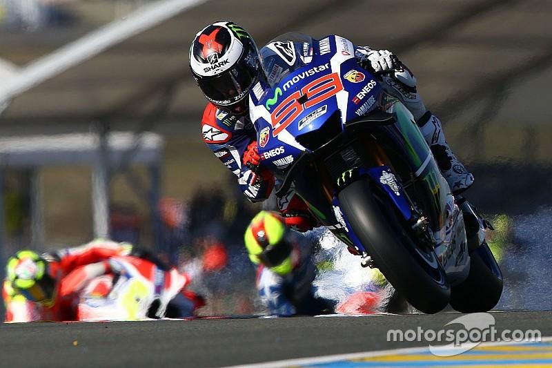 Lorenzo deelt de lakens uit in tweede Le Mans-training