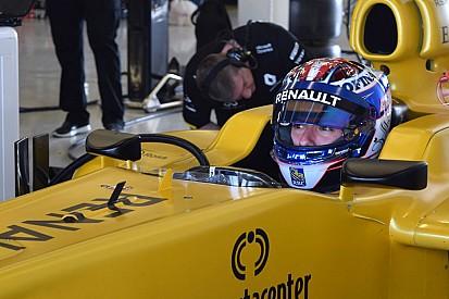 Le Canadien Nicholas Latifi effectue son premier test en F1