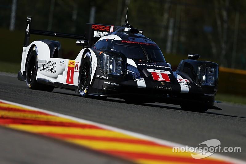 Porsche domina a sus rivales en la calificación en Spa