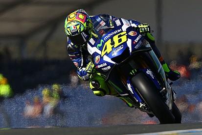 "Rossi: ""Voy muy lento"""