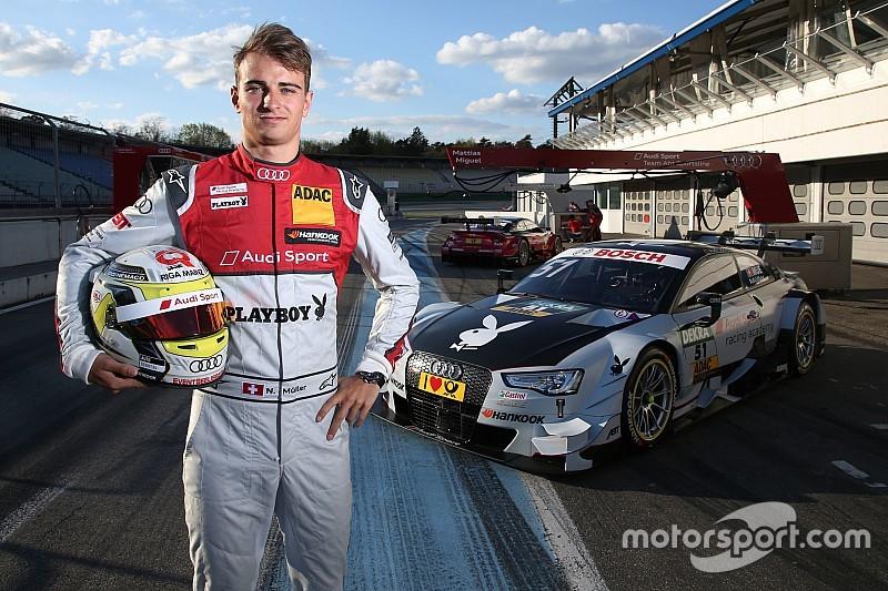 Nico Muller guida il dominio Audi nelle Libere 2 ad Hockenheim