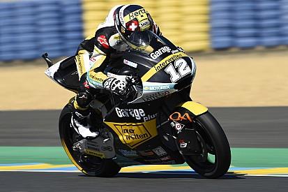 Thomas Luthi conquista la pole a Le Mans