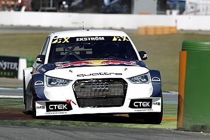 Les Audi EKS au top, Loeb en demi-finale