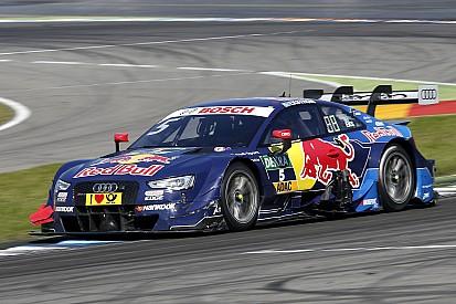 DTM in Hockenheim: Audi-Fahrer Mattias Ekström in letztem Training vorn